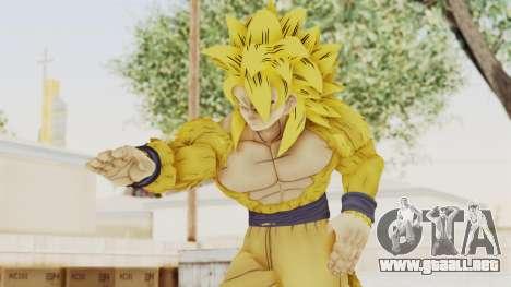 Dragon Ball Xenoverse Goku SSJ4 Golden para GTA San Andreas