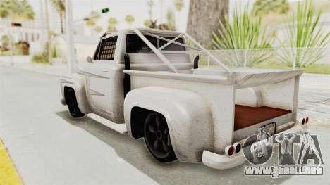 GTA 5 Slamvan Race PJ1 para visión interna GTA San Andreas