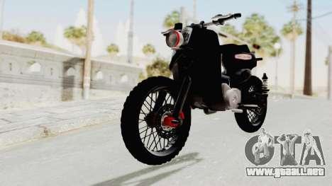 Honda Super Cub Modif Moge para la visión correcta GTA San Andreas