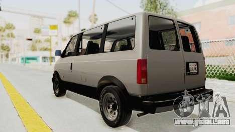 Chevrolet Astro 1988 para GTA San Andreas left