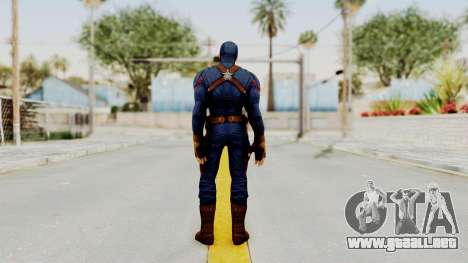 Captain America Civil War - Captain America para GTA San Andreas tercera pantalla