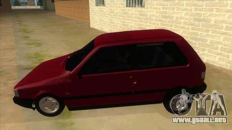 Fiat Uno S para GTA San Andreas left