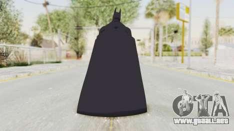Batman Arkham City - Batman v1 para GTA San Andreas tercera pantalla