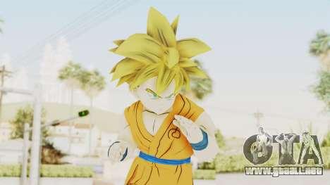 Dragon Ball Xenoverse Gohan Teen DBS SSJ1 v2 para GTA San Andreas