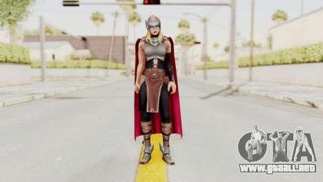 Marvel Future Fight - Thor (Jane Foster) para GTA San Andreas segunda pantalla