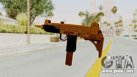 Uzi Gold para GTA San Andreas tercera pantalla