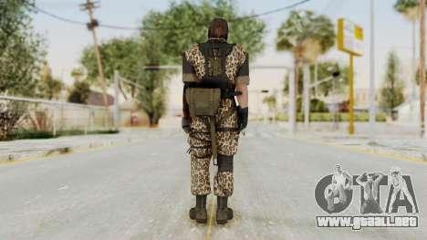 MGSV The Phantom Pain Venom Snake Animals para GTA San Andreas tercera pantalla