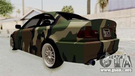 BMW 3 Series E46 para la visión correcta GTA San Andreas