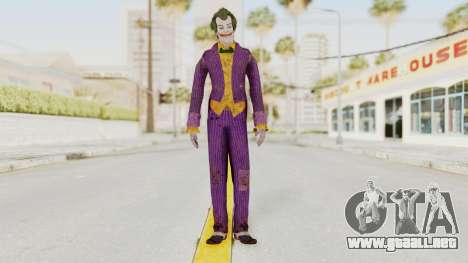 Batman Arkham Knight - Joker para GTA San Andreas segunda pantalla