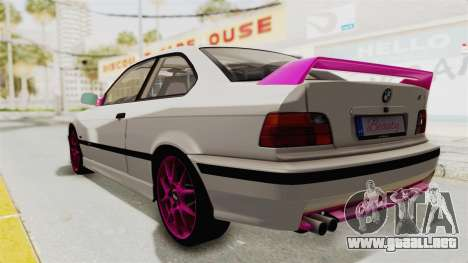 BMW M3 E36 Beauty para GTA San Andreas left