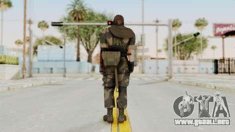 MGSV The Phantom Pain Venom Snake Scarf v4 para GTA San Andreas tercera pantalla