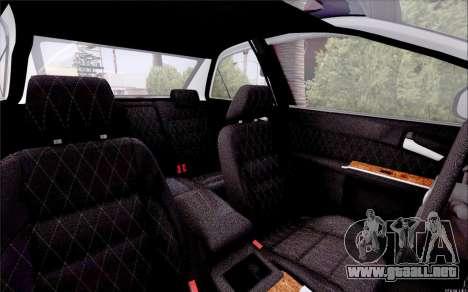 Toyota Camry V6 Sprot Edition para visión interna GTA San Andreas