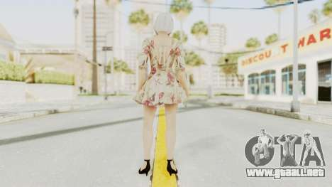 Dead Or Alive 5 LR - Christie Casual New Hair para GTA San Andreas tercera pantalla