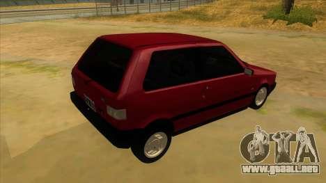 Fiat Uno S para la visión correcta GTA San Andreas