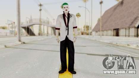 The Joker from Suicide Squad Re-Textured para GTA San Andreas segunda pantalla