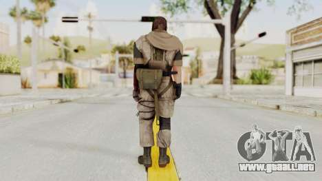 MGSV The Phantom Pain Venom Snake Sc No Patch v3 para GTA San Andreas tercera pantalla