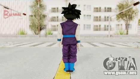 Dragon Ball Xenoverse Gohan Teen DBS SJ v1 para GTA San Andreas tercera pantalla