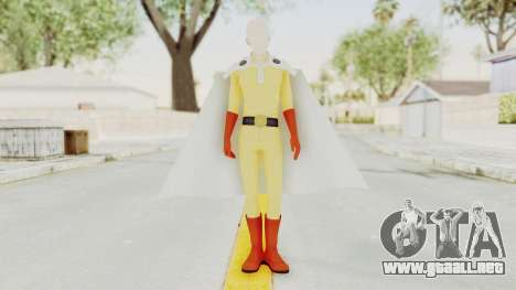 Saitama One Punch Man para GTA San Andreas segunda pantalla