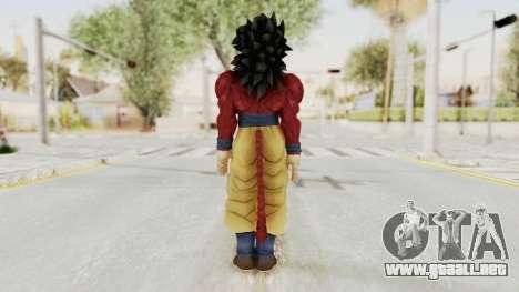 Dragon Ball Xenoverse Goku SSJ4 para GTA San Andreas tercera pantalla