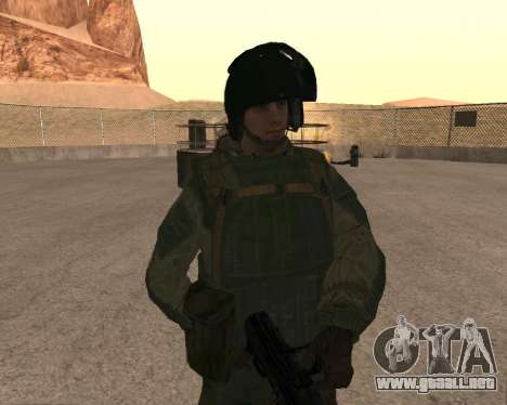 Las fuerzas especiales de la Federación de rusia para GTA San Andreas quinta pantalla