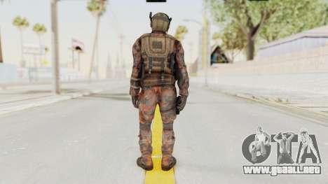 COD Black Ops 2 Cuban PMC 1 para GTA San Andreas tercera pantalla