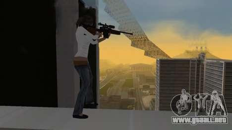 VIP Sniper Rifle para GTA San Andreas tercera pantalla