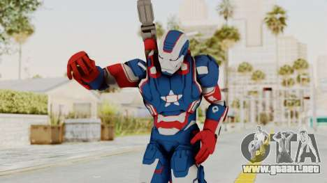 Marvel Heroes - Iron Patriot para GTA San Andreas
