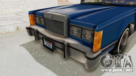 GTA 5 Dundreary Virgo Classic Custom v1 IVF para la vista superior GTA San Andreas