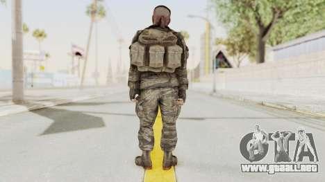 COD BO SOG Reznov v1 para GTA San Andreas tercera pantalla