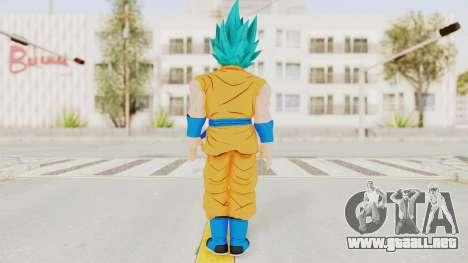 Dragon Ball Xenoverse Goku SSGSS V2.0 para GTA San Andreas tercera pantalla