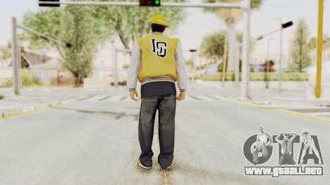 GTA 5 Los Santos Vagos Member 2 para GTA San Andreas tercera pantalla