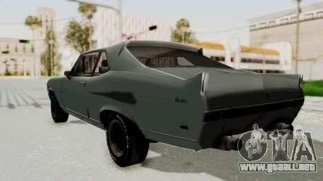 Chevrolet Nova 1969 StreetStyle para GTA San Andreas left