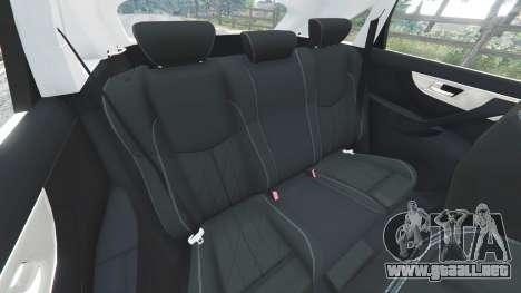 GTA 5 Infiniti FX S50 volante