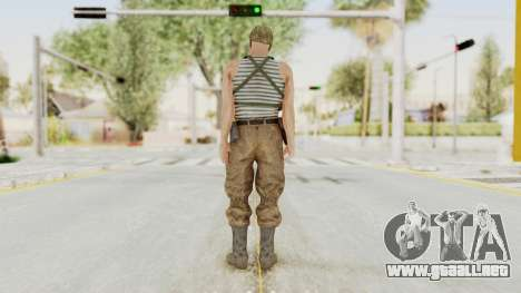 MGSV The Phantom Pain Soviet Union Tanktop v2 para GTA San Andreas tercera pantalla