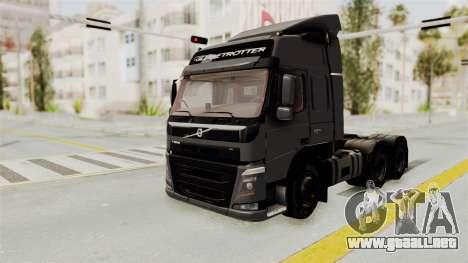 Volvo FM Euro 6 6x4 v1.0 para la visión correcta GTA San Andreas