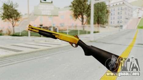 Remington 870 Gold para GTA San Andreas tercera pantalla