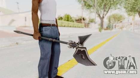 Ei Of The Water Weapon para GTA San Andreas tercera pantalla