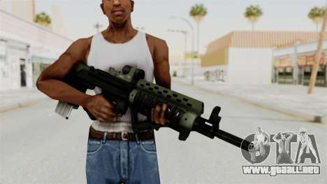 Killzone - M82 Assault Rifle para GTA San Andreas tercera pantalla