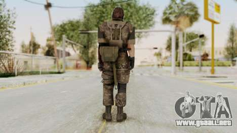 MGSV The Phantom Pain Venom Snake No Eyepatch v9 para GTA San Andreas tercera pantalla