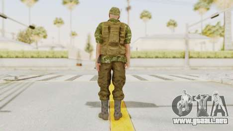 MGSV The Phantom Pain Soviet Union No Sleeve v2 para GTA San Andreas tercera pantalla
