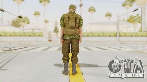 MGSV The Phantom Pain Soviet Union No Sleeve v2 para GTA San Andreas tercera pantalla