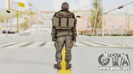 COD BO SOG Mason v1 para GTA San Andreas tercera pantalla