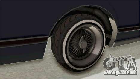 GTA 5 Dundreary Virgo Classic Custom v2 IVF para GTA San Andreas vista hacia atrás