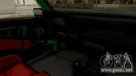 Honda Civic EF9 HellaFlush para visión interna GTA San Andreas