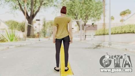 GTA 5 Online Female Skin 1 para GTA San Andreas tercera pantalla