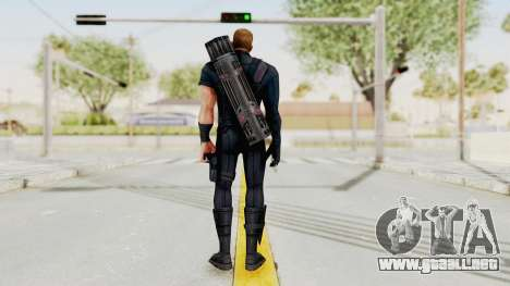 Captain America Civil War - Hawkeye para GTA San Andreas tercera pantalla