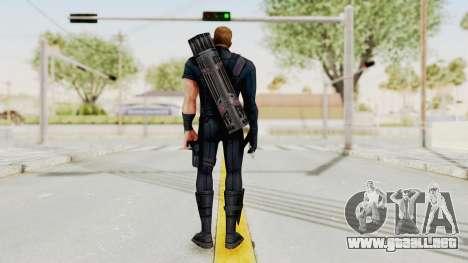 Captain America Civil War - Hawkeye para GTA San Andreas tercera pantalla