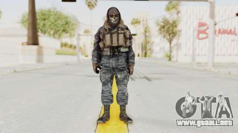 COD MW2 Ghost Ops para GTA San Andreas segunda pantalla
