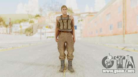 MGSV The Phantom Pain Soviet Union Tanktop v2 para GTA San Andreas segunda pantalla