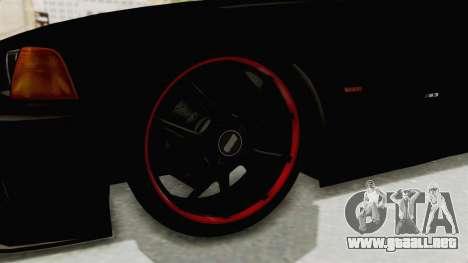 BMW M3 E36 Beast para GTA San Andreas vista hacia atrás